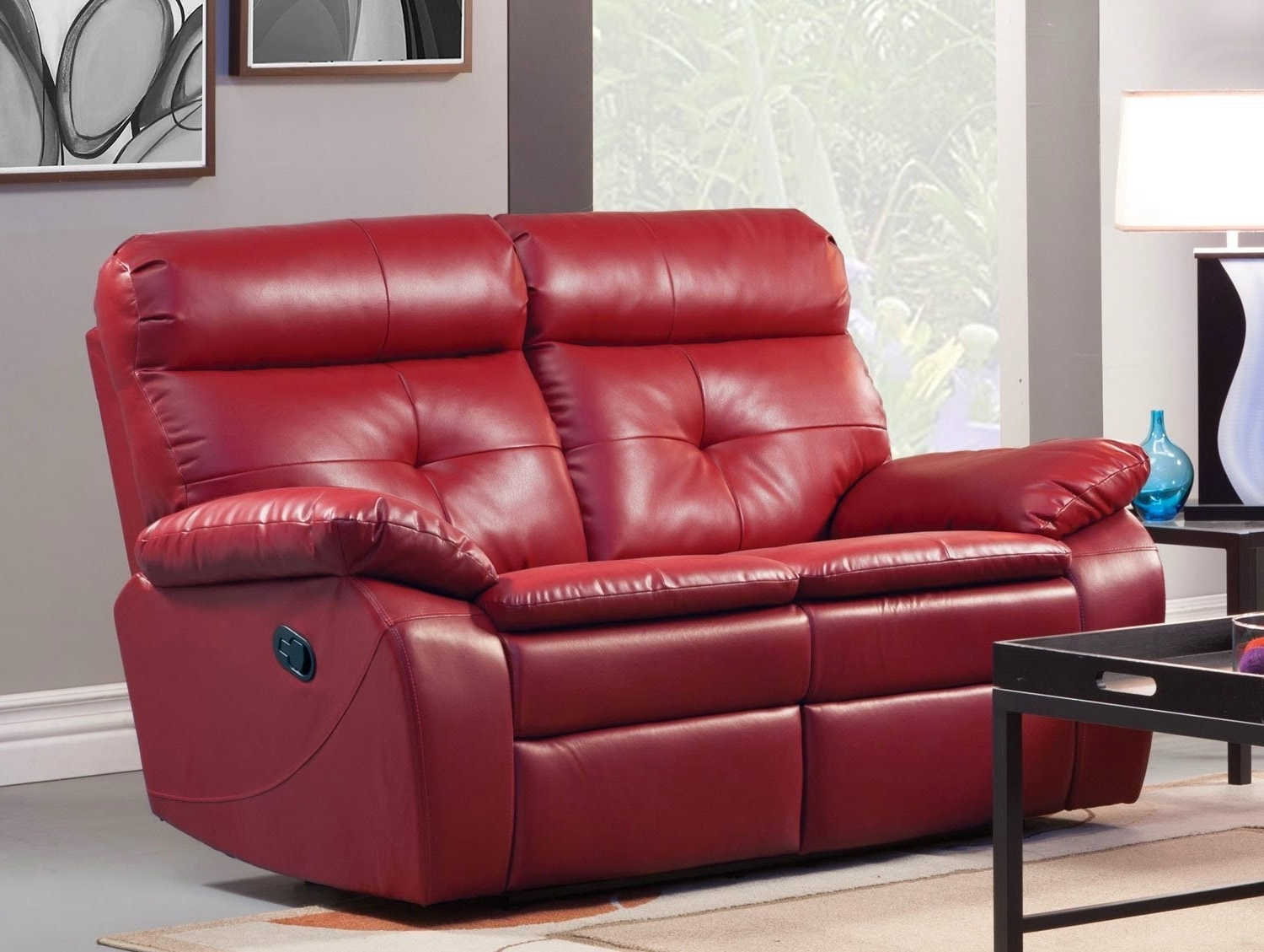 2 Seater Leather Recliner Sofa Sale | 2 Seat Reclining Leather Sofa ...