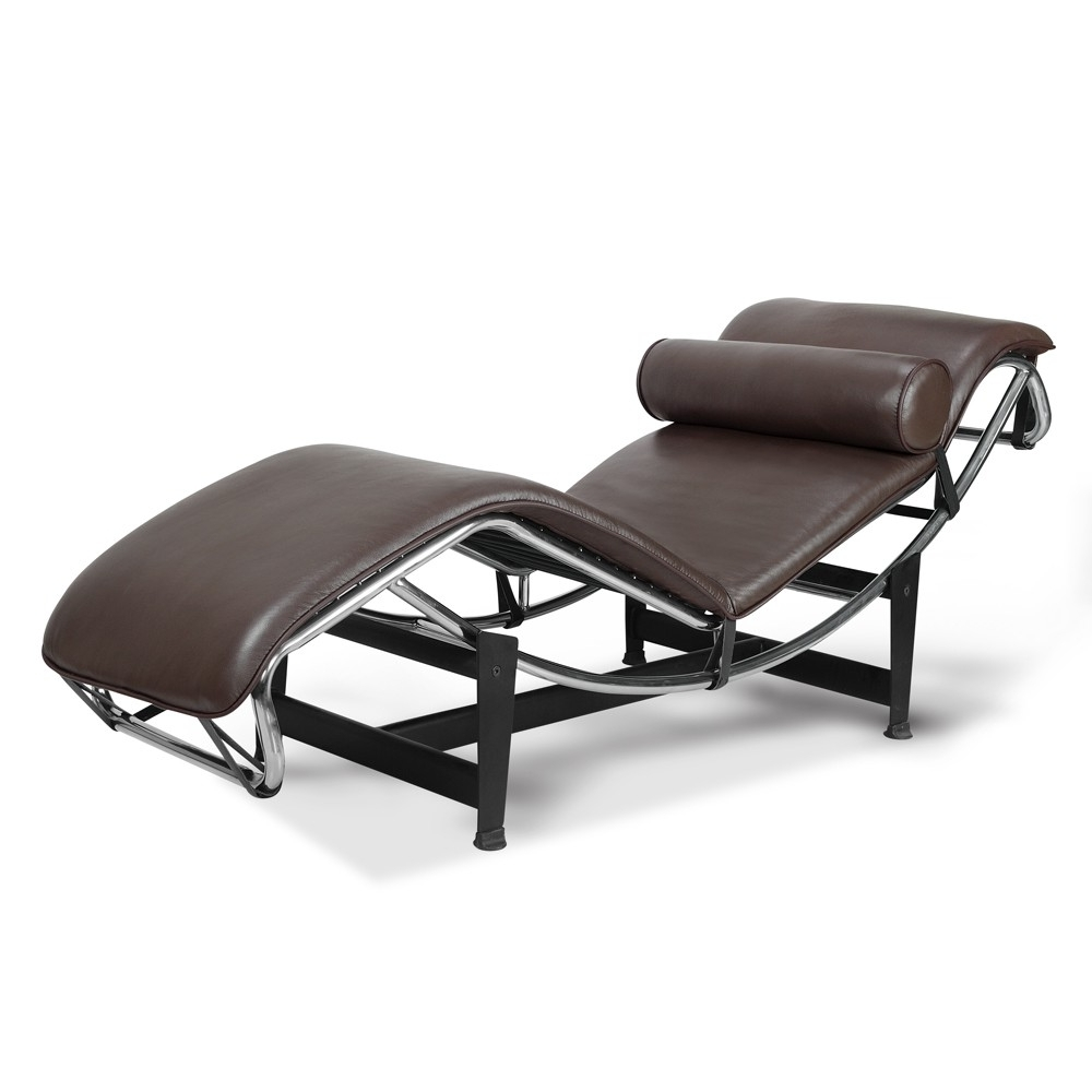 La Chaise Lounge Chair 15 Best Collection Of Brown Chaise Lounge Chair By Le Corbusier