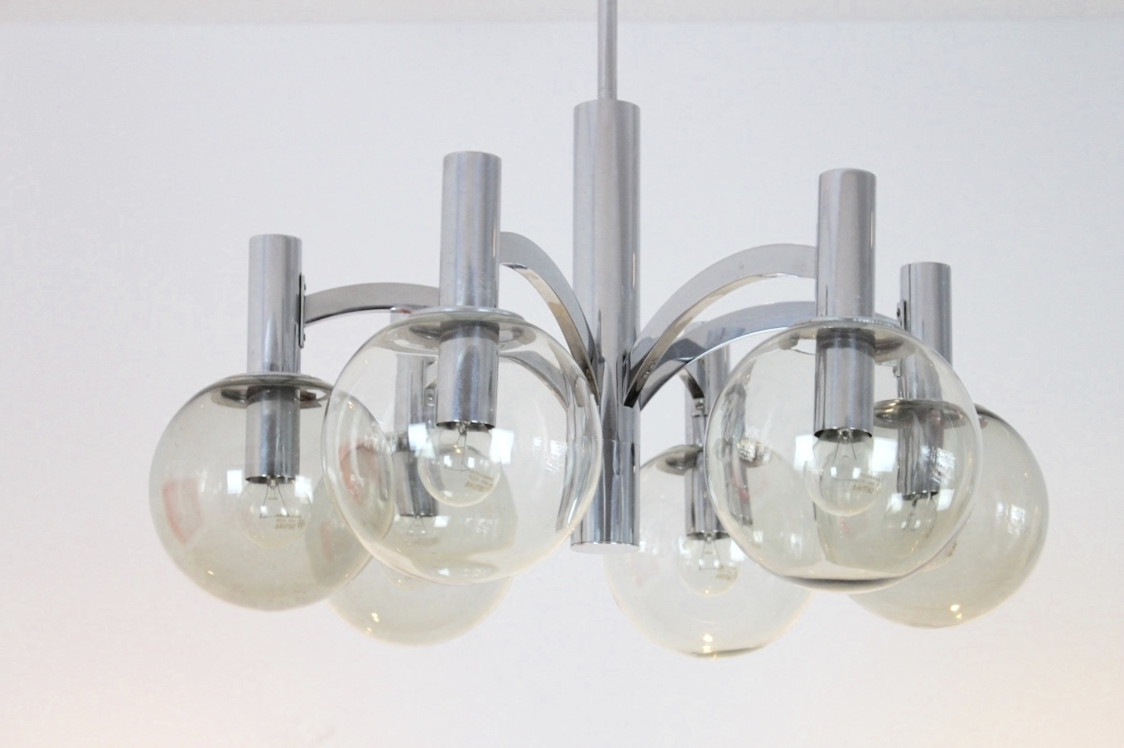 Kaiser Leuchten Explore Gallery Of Chrome And Glass Chandelier Showing 10 Of 15