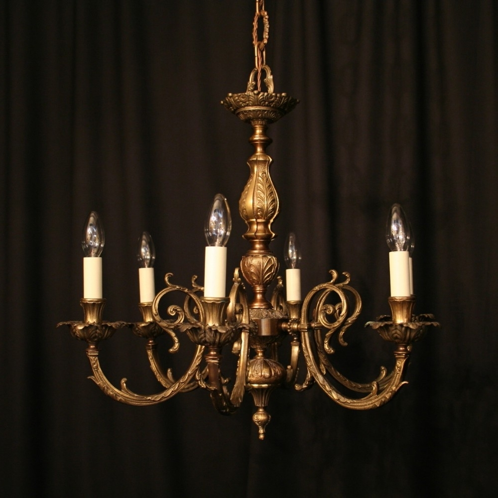 Spanish Chandelier Photo Gallery Of Vintage Brass Chandeliers Showing 14 Of 15 Photos