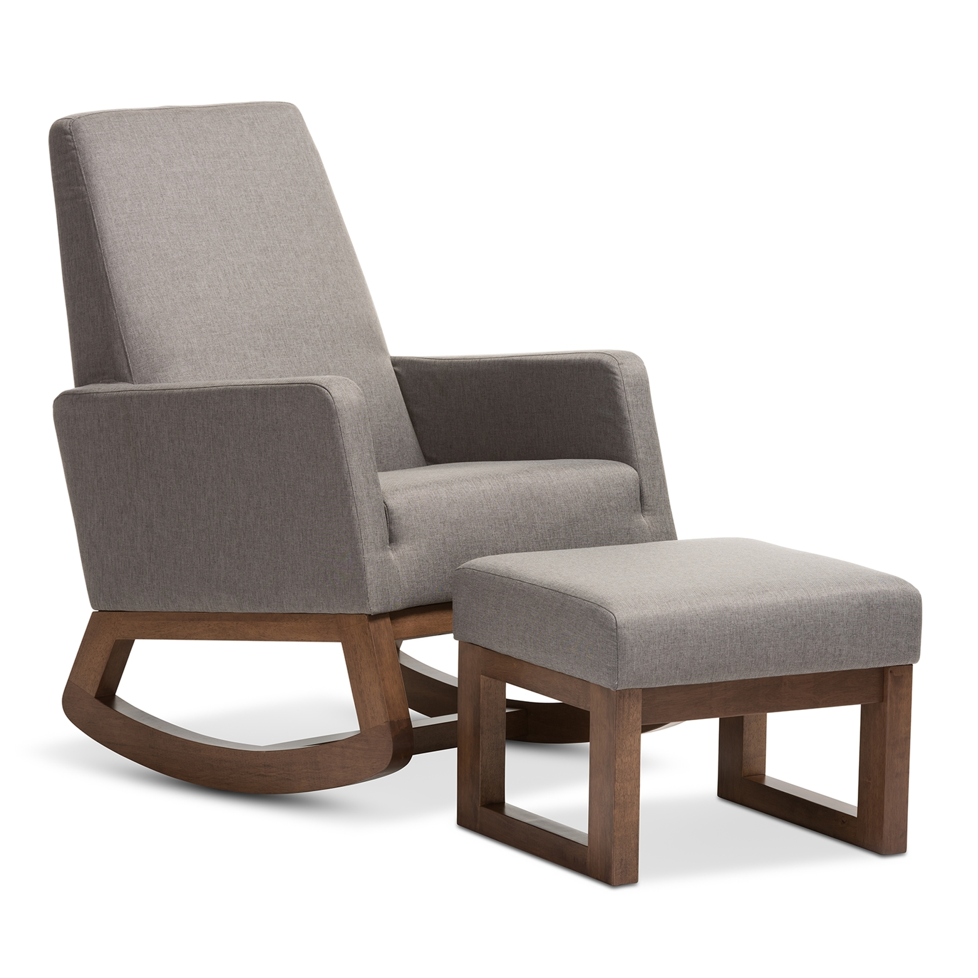Patio Rocker Chairs 15 Collection Of Patio Rocking Chairs With Ottoman