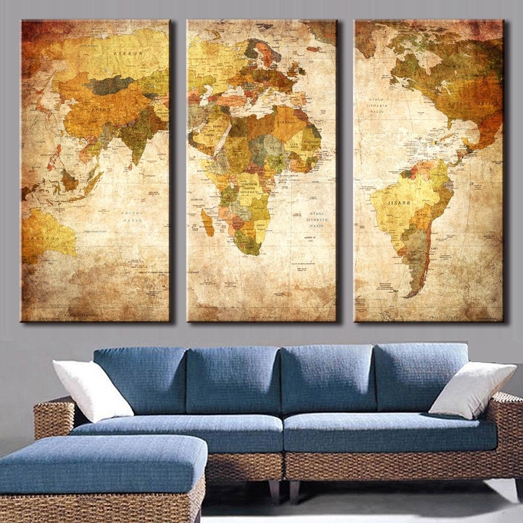 World Map Decorations Best 15 Of Old World Map Wall Art