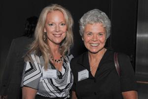 JRocket Marketing's Judith Rothrock with Cindy Jutras of Mint Jutras