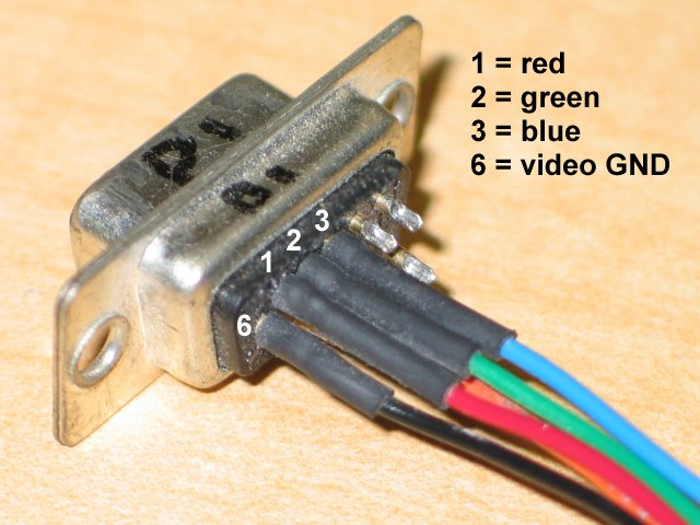 Vga Cable Color Code Diagram Wiring Diagram