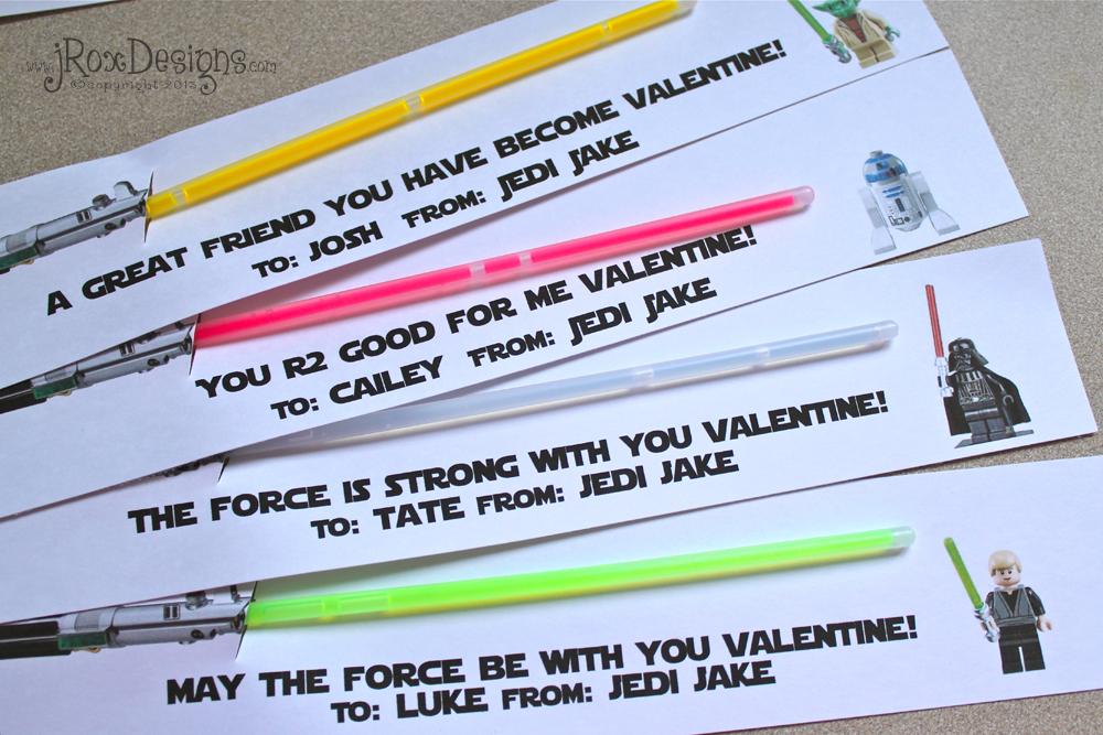 Valentine\u0027s Day Goodies and Star Wars Valentines! jRoxDesigns