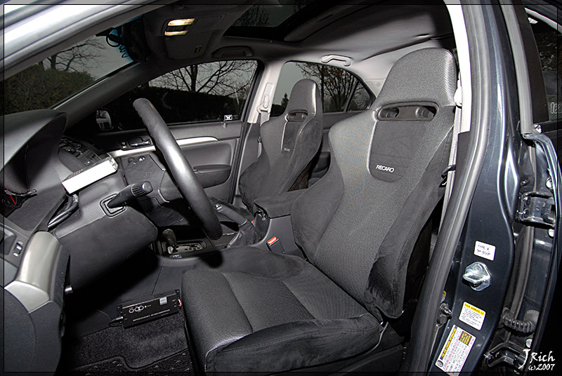 Recaro Question Honda Accord Forum V6 Performance Accord Forums - Honda Accord Type R Interieur