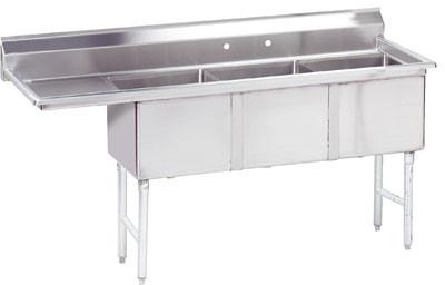Advance Tabco Fc 3 1818 18l X 3 Compartment Sink 75