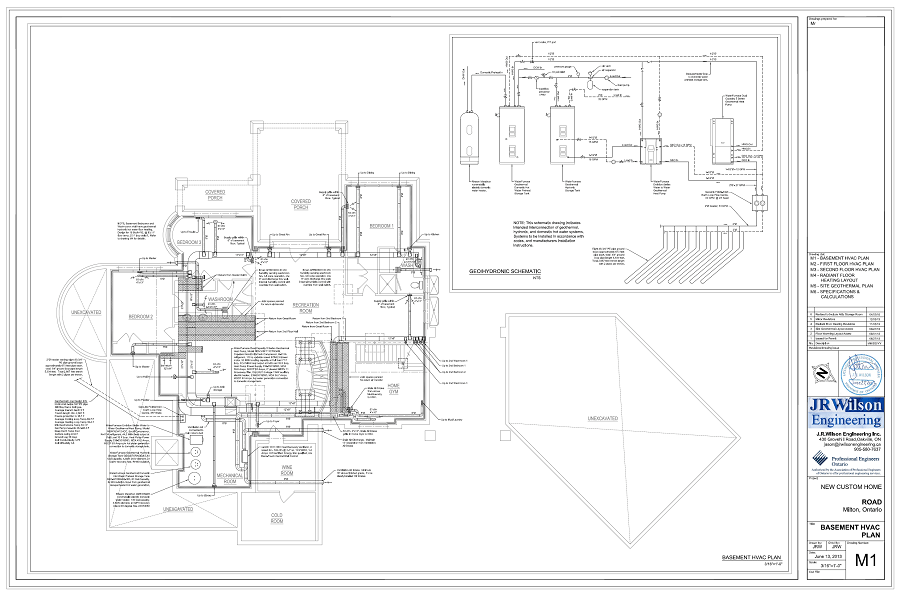electrical plan for residential