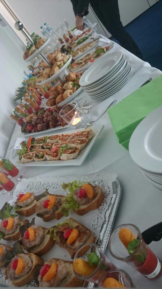 Catering Buffet Brötchen