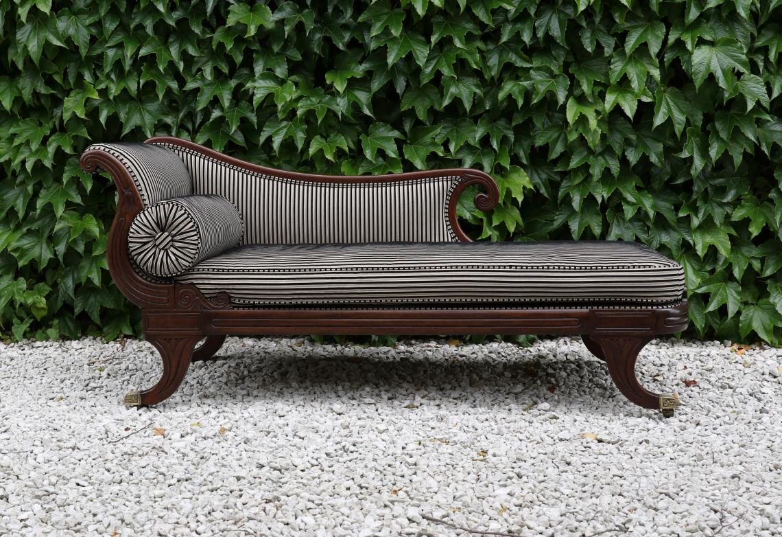 Sofa Lounge Nz John Stephens Stunning English Empire Chaise Lounge