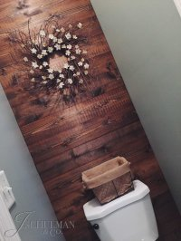 DIY: Wood Panel Bathroom Accent Wall  J. Schulman & Co.