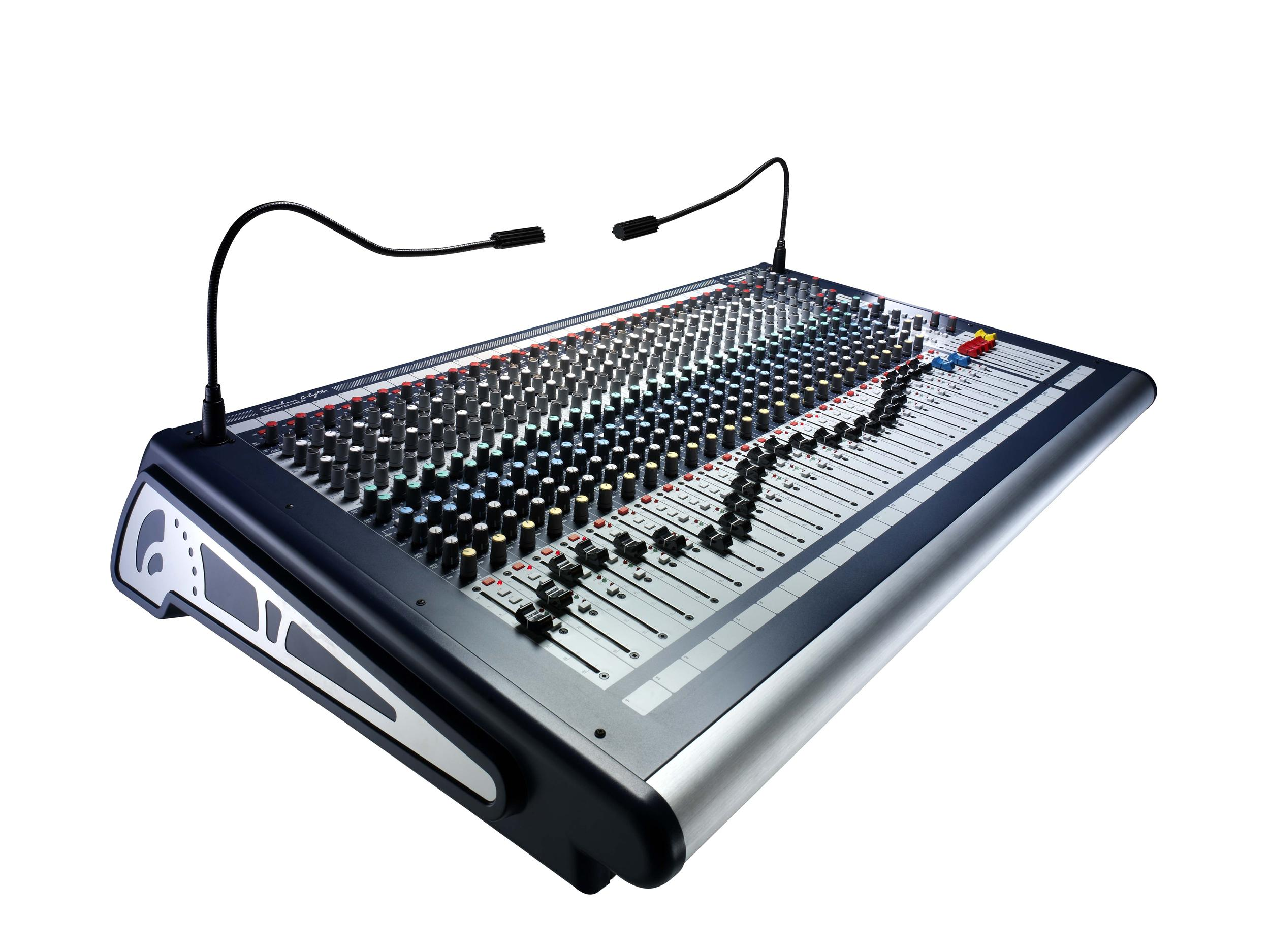 Table De Mixage Numérique Occasion Soundcraft Table De Mixage Gb2 24 Occasion