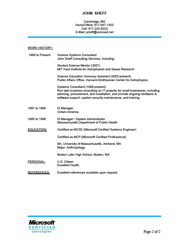 references upon request on resume - Vatozatozdevelopment