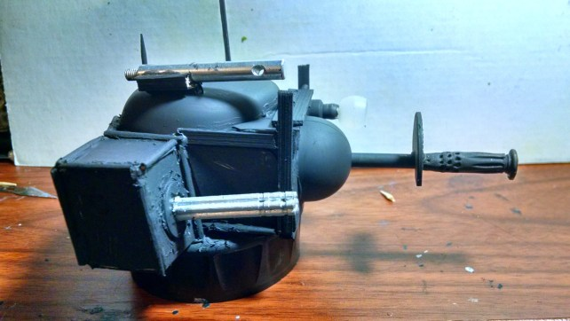 Turret WIP. Click to Enlarge.