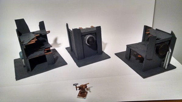 Ruined Buildings for Tabletop RPG and Wargame Terrain. Click to Enlarge.