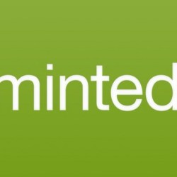 Minted logo, brand I love