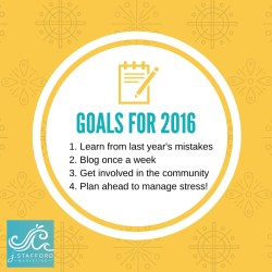 2016, new year, goals, small business