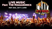 Patio Bar & LIVE MUSIC featuring the Reaganomics in Columbus