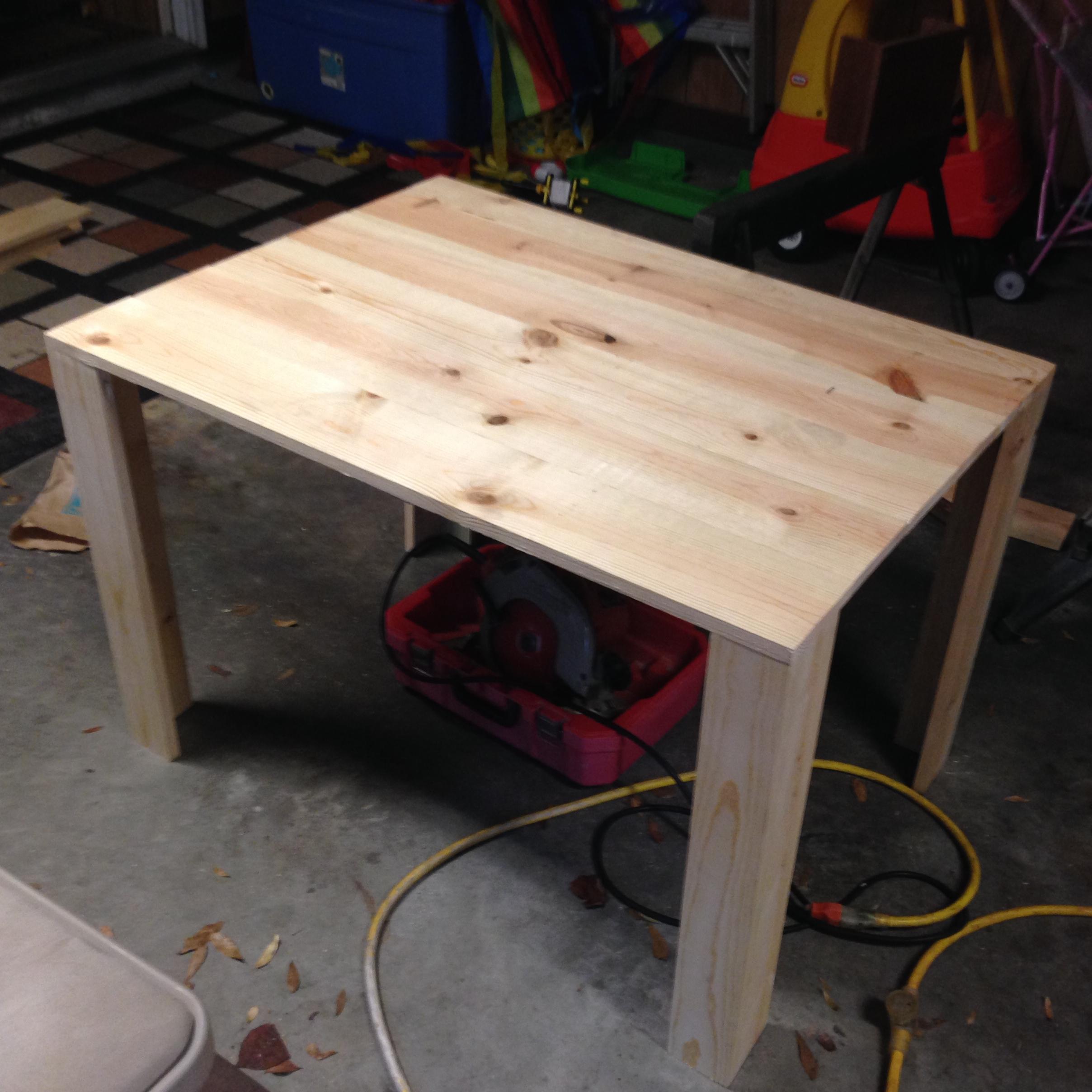 Operation Desk: DIY Desk And Shelves