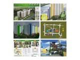 Jual Apartemen Pancoran Riverside Jakarta Selatan - 2 BR 35 m2 Unfurnished