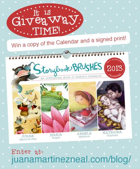 Calendar Giveaway