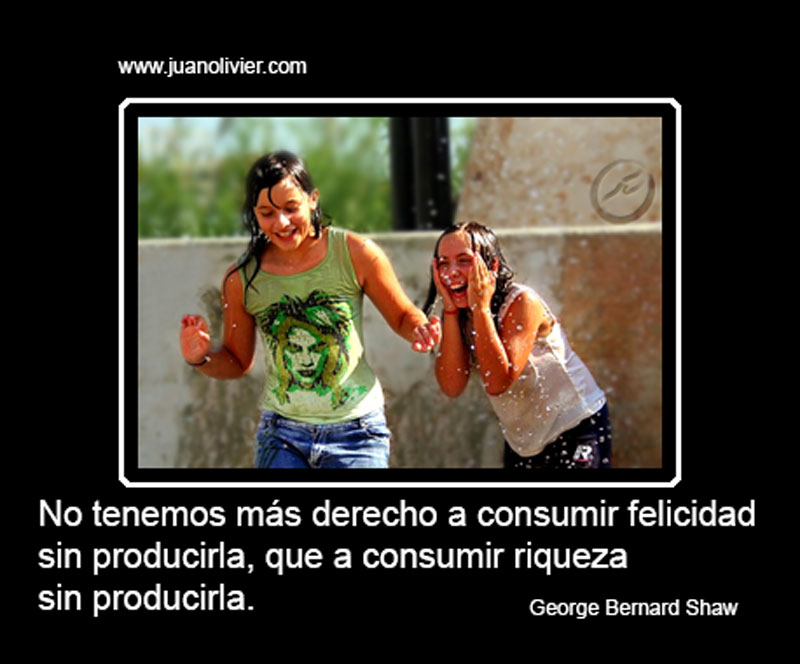 Producir Felicidad