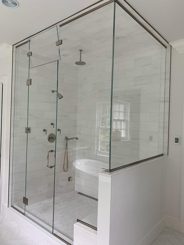 Beveled Mirror Replacement Near Me Juano 39;s Glass Llc Glass Shower Doors Glass Railing