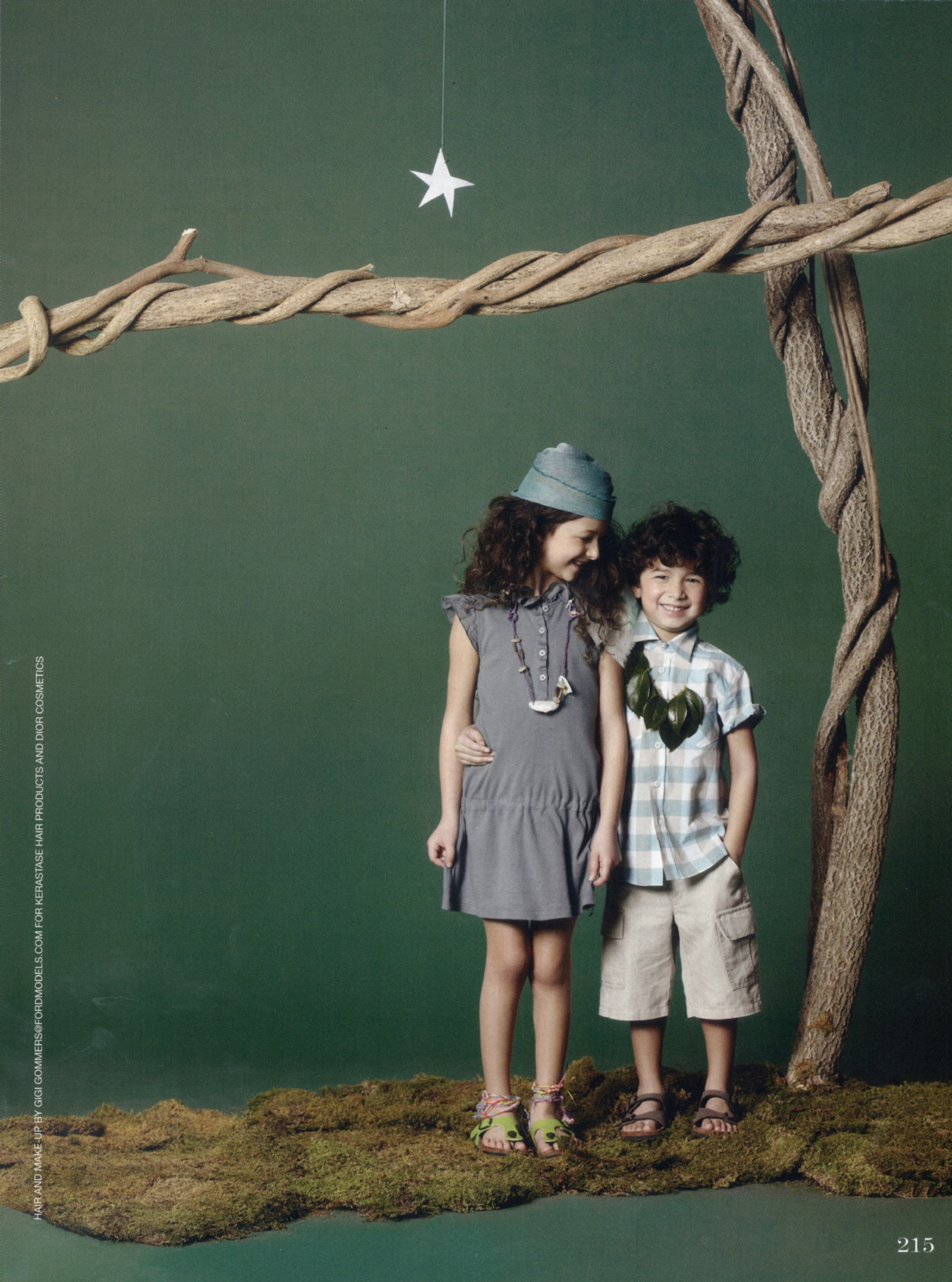 Farrow & Ball Drew Sackheim Shoots Vogue Bambini | Jmi