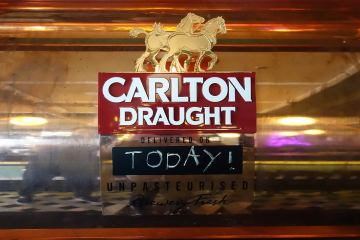 Carlton Draught Fresh Unpasteurised (9)