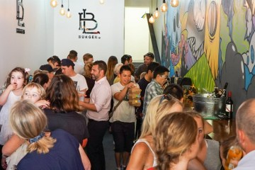 B L Burgers Bar Luca Darlinghurst cover