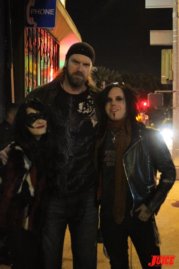 Halloween's own scream Queen Scout Taylor-Compton, Tyler Mane and friend.