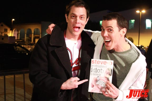 Johnny Knoxville and Steve-O. Photo: Dan Levy