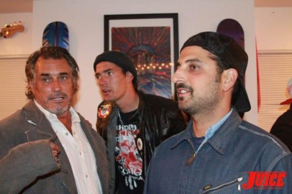 Steve Olson, Punker Johnny and Yaniv Evan