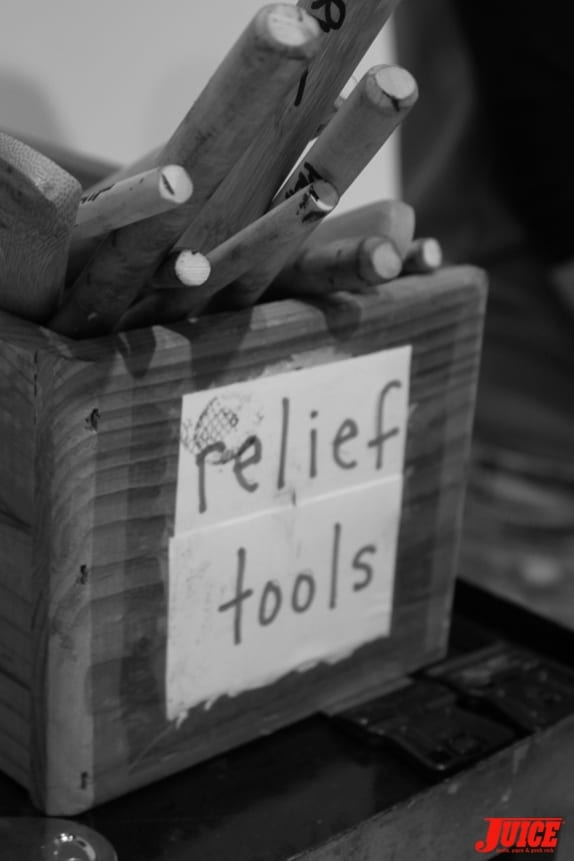 Relief Tools. Photo: Dan Levy