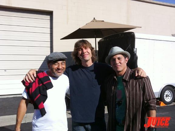 Steve Caballero, Rodney Mullen and Christian Hosoi. Photo: Dan Levy