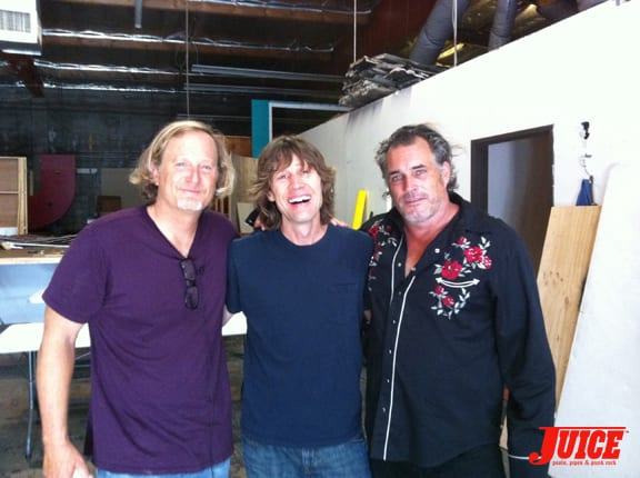 Stacy Peralta, Rodney Mullen and Steve Olson. Photo: Dan Levy