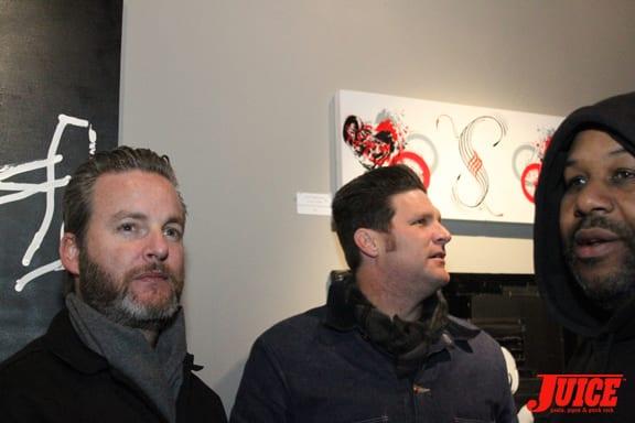 Travis Harding and Big Bruce. Photo: Dan Levy