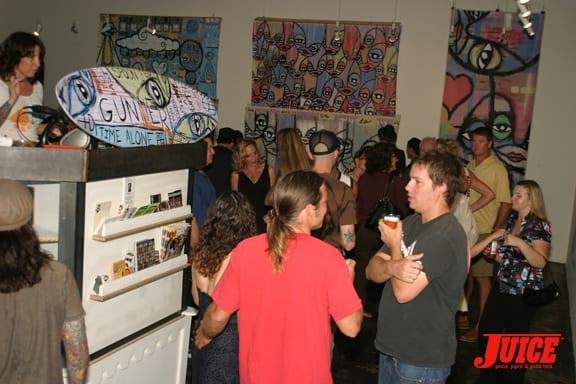 Kris Markovich Art Show