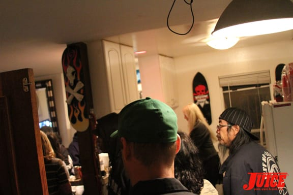Jeff Ho Surveying the party