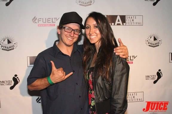 Dan Levy and Vanessa Davey