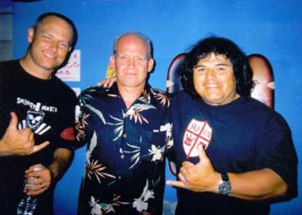 Dave Hegstrom, Bob Biniak and Rene Carrasco. Photo: Carrasco