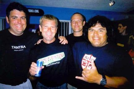 Joe Iacovelli, Wentzle Ruml IV, Dave Hegstrom, Rene Carrasco. Photo: Carrasco.