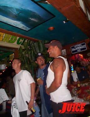 Baja Mark band. Photo: Dan Levy
