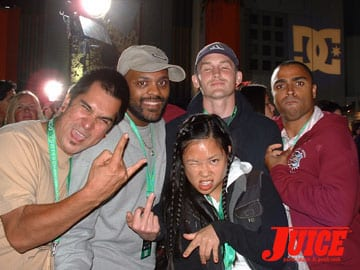 Clem, Ben, Larry, Tiffany and Marcus Venice in the house - Clem, Ben, Larry, Tiffany, Marcus Levere Photo: Dan Levy