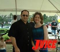 Jeff Jobes and gal. Photo: Terri Craft