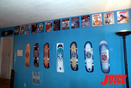 The Koping Killer Wall. Hand painted originals by Aaron Murray. Photo: Dan Levy