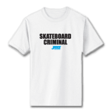 Juice Skateboard Criminal White Short Sleeve TShirt