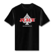 Juice Ace of Spades Black Short Sleeve TShirt