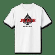 Juice Ace of Spades White Short Sleeve TShirt