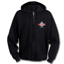Juice Ace of Spades Zip Up Hoodie